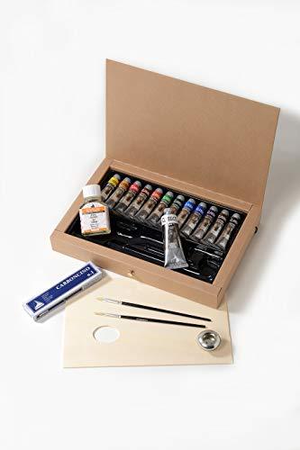 Industria Maimeri 0398060 Colori a Olio 12 Tubi