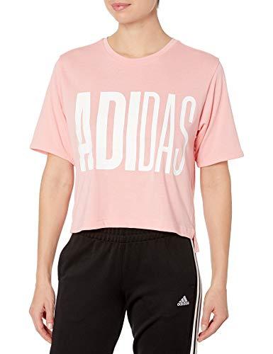 adidas Women's Universal Tee 1 Glory Pink 3X