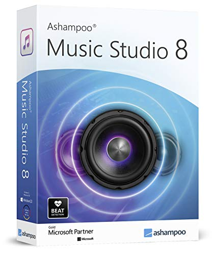 Music Studio 8 - Recorder and Editor - professional sound studio for recording, editing and playing all common audio files: WAV, AIFF, FLAC, MP2, MP3, OGG - compatible with Windows 10, 8.1, 7