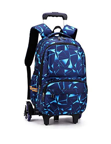 Funda de protección de regalo escolar, mochila con ruedas, maletero, maleta, cabina, viaje, galexy, mochila, niño, escuela, cielo y estrella., Cubo tecnológico (Azul) - RYC-2024-KJ-6