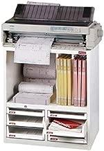 SHUTER オフィス用収納棚 プリンター台 白 A4XM2-4H2P2V