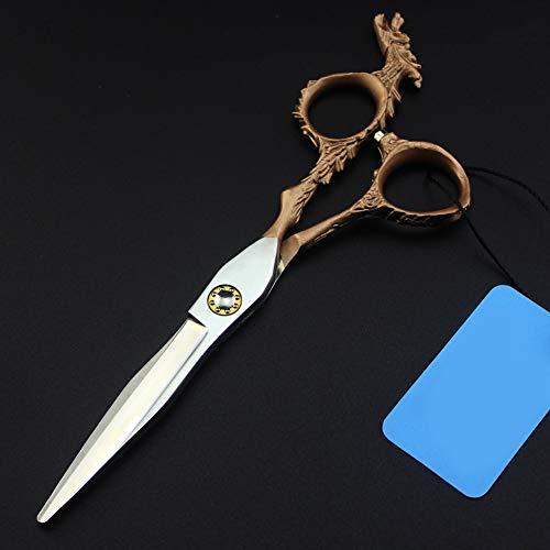 DANTB 6inch salón Profesional de Productos de Corte Adelgazamiento Barbero Shear Tijeras de peluquería Conjunto,6InchSet