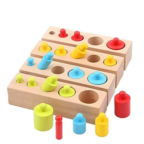 GG-kids toys Jeux éducatifs pour la Petite enfance Jouets éducatifs pour Les Jeunes de 1 à 3 Ans Blocs de Construction Jouets