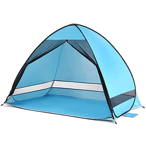 SZTUCCE Al Aire Libre Automático Pop Up Beach Tent Cabana Anti UV Pesca Playa Carpa Sun Shelter Camping Tienda Camping Equipo Camping Automático Tienda de Tienda Tienda Tent Tents Blackout