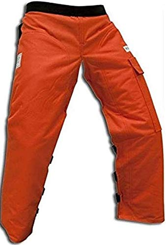 Forester Chainsaw Apron Chaps with Pocket with Adjustable Belt