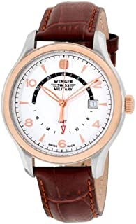 Wenger Analog Watch for, Men, Leather, 79306C