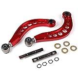 Piezas de automóvil Aluminio Posterior Del Coche Comba Kits De Control Del Brazo Inferior Del Brazo Camber Kit For Honda Civic DX/LX/EX/SI FG2 FD 06-11 (Color : Red)