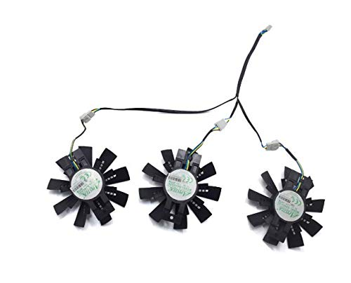 QHXCM 3 stks voor 87MM GA92S2U DC 12V 0.46A Cooler Fan vervangen voor ZOTAC GeForce GTX 1070 1070Ti 1080 AMP EXTREME grafische kaart Fans