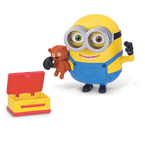 Despicable Me Minions Deluxe Action Figure - Bob with Teddy Bear