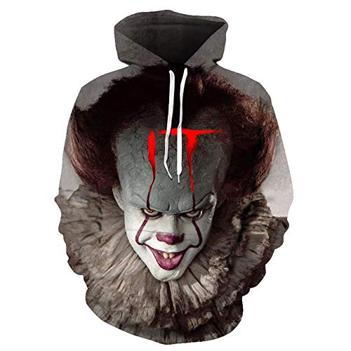 Película Terror The Pennywise IT Clown Stephen King'S