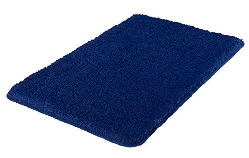 Meusch 2327789311 Badteppich Super Soft, Polyester, 70 x 120 x 3 cm, dunkelblau