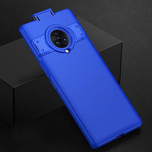 SHIEID Hülle für Vivo NEX 3/Vivo NEX 3 5G hülle FederLeicht Premium Hart-PC ultradünner Handykasten ultradünner Antikollisions-Kratzerschutzabdeckung für Vivo NEX 3/Vivo NEX 3 5G-Blau