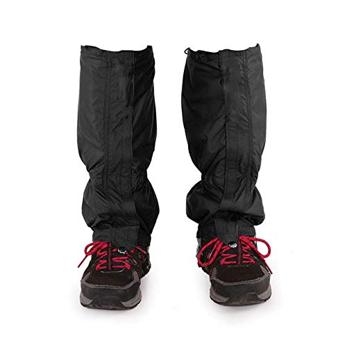 Kiiper Leg Snow Gaiters for Women Men, Waterproof Anti-Tear Boot Cover for Outdoor Hiking, Hunting, Camping, Ice Climbing, Snowshoeing, Walking Oxford Fabric