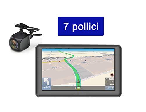 "7 "" POLLICI NAVIGATORE SATELLITARE CAMION GPS DBPOWER-772 MAPPE EU 2019 TRUCK"