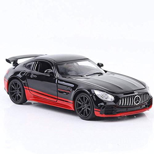 Modelo de coche de juguete Modelo de coche súper deportivo Sonido y luz Decoración de coche Asiento de perfume, Kits de modelo de coche para niños, Vehículos de aleación de...