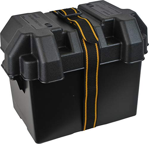 attwood 9065-1 Standard Battery Box - 24 Series, Vented