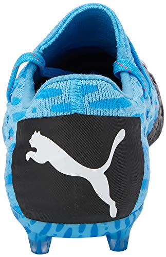 Puma Herren Future 5.1 Netfit Low Fg/ag Fußballschuhe, Gelb (Luminous Blue-NRGY Blue Black-Pink Alert 01), 45 EU - 5