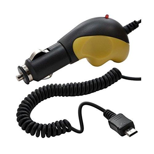 Seluxion–Cargador de coche Micro USB con cable para Sony: Xperia T3/Xperia M2/Xperia M/Xperia T2Ultra/Xperia Z2/Xperia Z1Compact/Xperia Z1/Xperia Z/Xperia Z Ultra/Xperia SP/Xperia E1/Xperia L