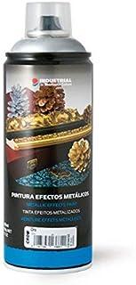 Montana Colors MTN Industrial Spray Plata Cromada 400ml - Spray con Efectos Metálicos, Plata Cromada, 400 ml