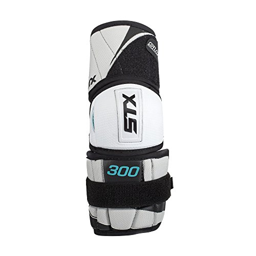 STX Ice Hockey Surgeon 300 Senior Elbow Pad, White/Grey, Small