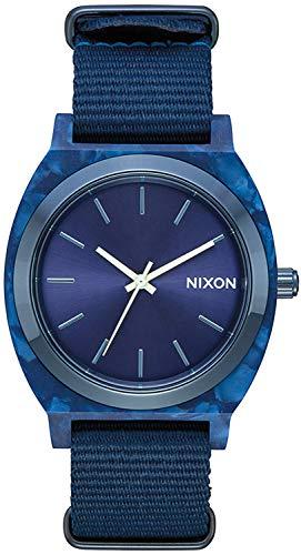 Nixon Orologio Digitale Quarzo Unisex con Cinturino in Tessuto A327-2490-00