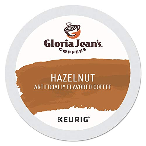 Gloria Jean's Coffees Hazelnut, Single-Serve Keurig K-Cup Pods, Flavored Medium Roast Coffee, 96 Count
