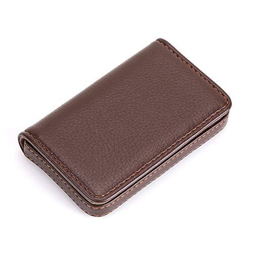 Peanutaoc Draagbare Mini Magnetische Ontwerp Kaarthouder Tas Zakelijke Kaart Pakket PU Kaartentas Voor ID-Kaarten Credit Kaarten
