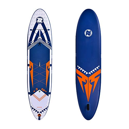 Jtoony Tabla Paddle Surf Hinchable Sup 365cm Longitud All Round Inflable Stand Up Paddle Board for Adultos Principiante Intermedio 365x81x15cm Stand up Paddle Board (Color : Blue, Size : 365x81x15cm)