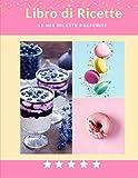 Libro di Ricette / Le mie ricette preferite: Taccuino per scrivere le tue ricette preferite. Contiene indice, Spazio per nome della ricetta, tempo, ... ingredienti, procedura, note e foto.
