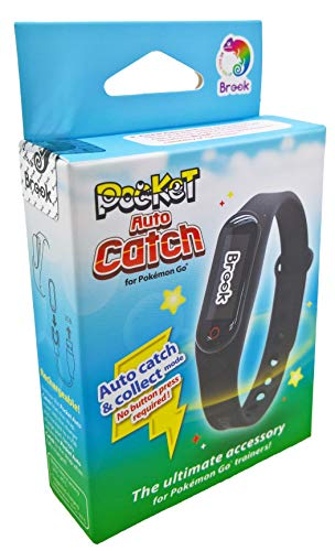 Muñequera táctil LED «Pocket Auto Catch 2020» para Pokémon Go (alternativa para Go Plus | Desarrollada por Datel y fabricada por Brook)