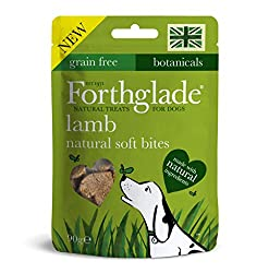 8x 90g Natural Lamb soft bites Grain free, we don't add any grains to this recepie, so it's great for dogs with sensitive tummies. Hand baked soft bites made with natural ingredients Includes botanicals & yucca extract for dogs aged 2 months +