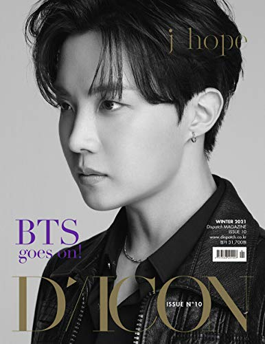 DICON VOL.10 Official Authentic ISSUE10 BTS goes on Dispatch Magazine [ J-HOPE Edition ] (Language:English) K-POP SEALED + TRACKING CODE