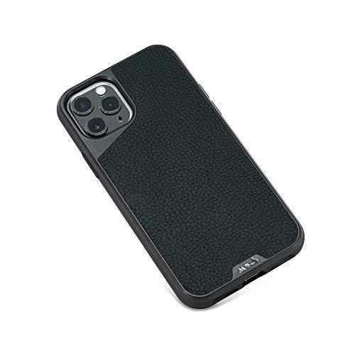 Mous - iPhone 11 Pro Hülle - Limitless 3.0 - Schwarzes Leder - Kein Displayschutz