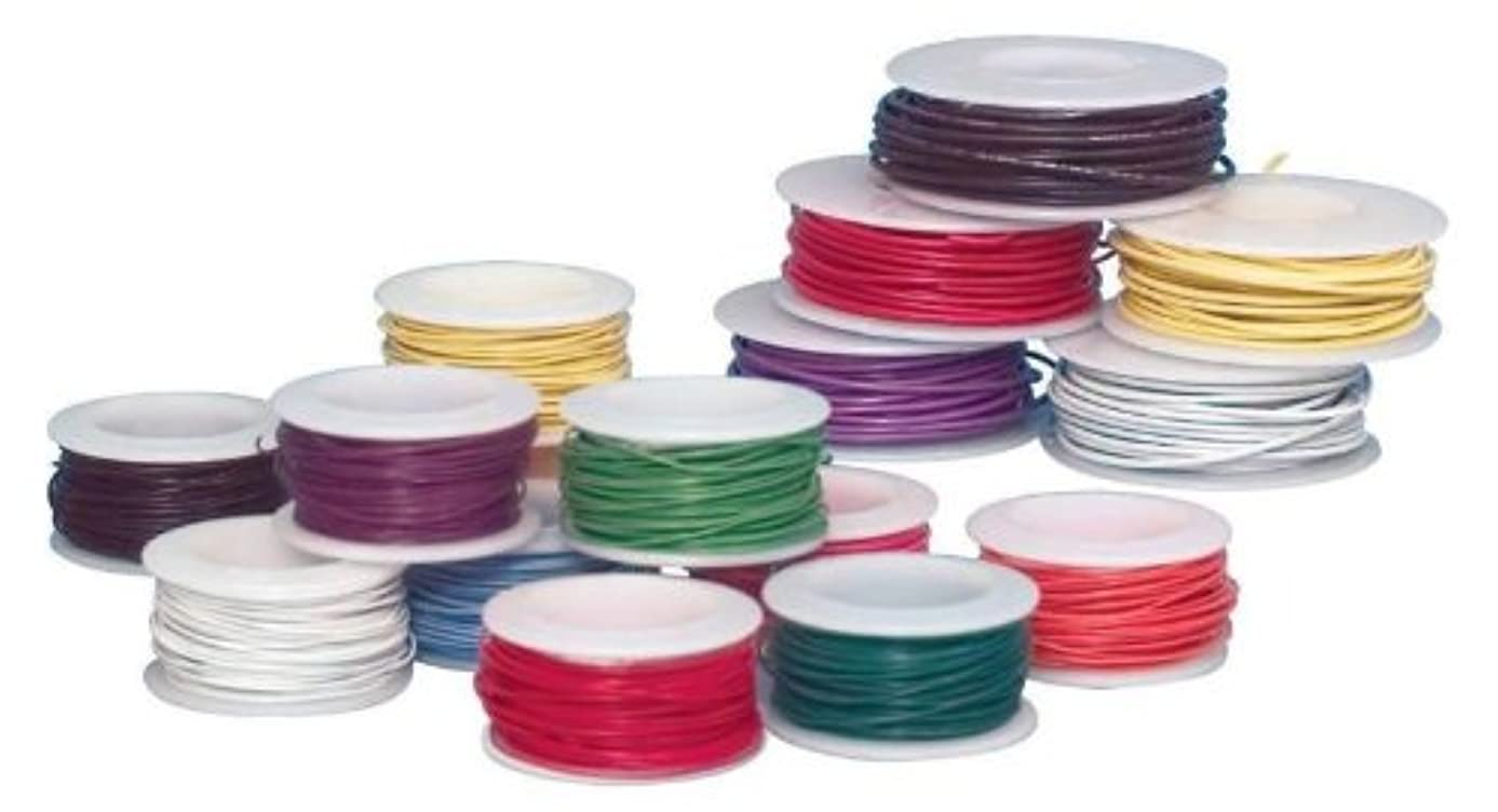 Sax Colored Art Wire, 20 Gauge, Assorted Colors, Pack of 10