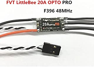 Favourite FVT LittleBee 20A OPTO PRO ESC BLHeli 2-4S F396 Supports OneShot125 for RC Drone FPV Racing