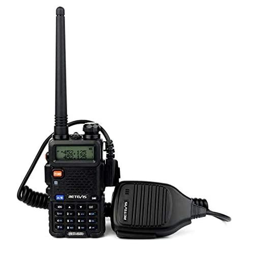 Retevis RT-5R Dual Band Two Way Radio, Long Range Walkie Talkies 128CH 155 Privacy Codes UHF/VHF Police Radios, FM… 4