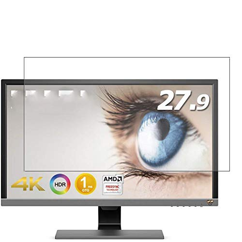 Vaxson 3 Unidades Protector de Pantalla, compatible con BenQ Monitor EL2870U 27.9