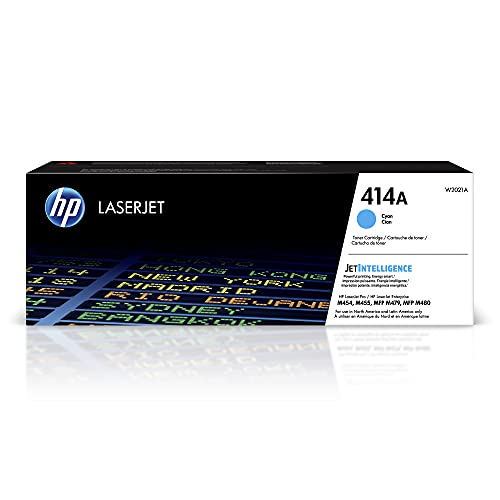 HP 414A | W2021A | Tonerkartusche | Cyan | kompatibel mit HP Color LaserJet Pro M454 Serie, M479 Serie