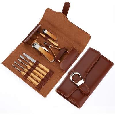 16-teiliges Nagelknipser-Set aus Edelstahl, für Maniküre, Pediküre, Werkzeuge für dicke Nägel, Nagelhautentferner