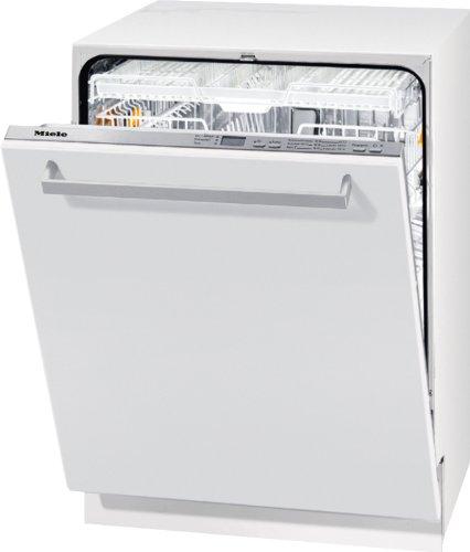 Miele G 5285 SCVi XXL EcoLine vollintegrierbarer Geschirrspüler / Einbau / A++ A / 14 Maßgedecke / 44 db / Edelstahl / Perfect GlassCare / effizientes Wechselspül-System / 59.8 cm