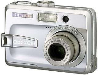 Pentax Optio E10 Digital Camera - Silver (6MP, 3x Optical Zoom) 2.4 inch LCD