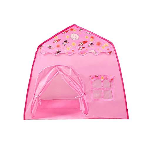 Wangyu Tenda da principessa, per bambini, per giocare a casa, pop-up e principessa, giocattolo da principessa, principessa, castello, gioco di Playhouse pieghevole per interni ed esterni