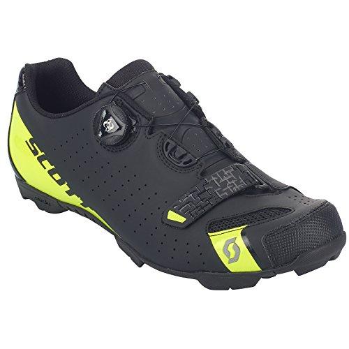 Scott MTB Comp Boa Hommes Chaussure Mountainbike (NoirJaune)