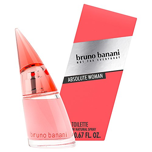 bruno banani Absolute Woman – Eau de Toilette Natural Spray – Fruchtig-blumiges Damen Parfüm – 1er Pack (1 x 20ml)