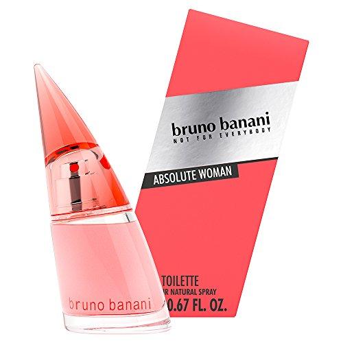 Bruno Banani Fragrance Absolute Woman Eau de Toilette Natuurspray, fruitig-bloemige parfum, per stuk verpakt Eau de toilette, 20 ml. 20ml