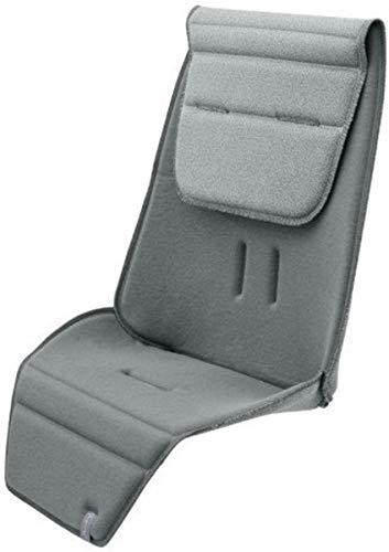 Quinny 1083911000 Sitzauflage, schafft eine bequeme und unterstützende Position, geeignet für Quinny Zapp Flex Plus, Zapp Flex und Zapp Xpress, grau