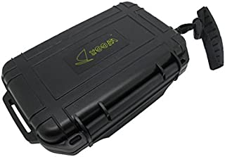 Scuba Choice Scuba Diving Dive Waterproof Black Dry Box Case Container with Lanyard
