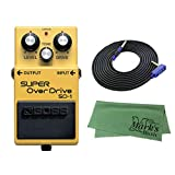 BOSS SUPER OverDrive SD-1 + 3m ギターケーブル VOX VGS-30+クロス セット