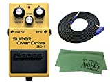 BOSS SUPER OverDrive SD-1 3m ギターケーブル VOX VGS-30 クロス セット