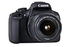 Appareil photo reflex Canon EOS 2000D (24,1 MP, DIGIC 4+, 7,5 cm (3,0) LCD, display, Full HD, WIFI, capteur CMOS APS-C) avec lentille EF-S 18-55 IS II kit noir